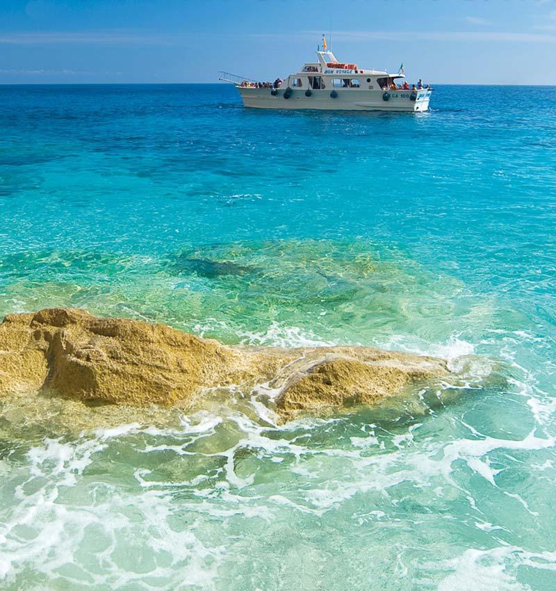 Boat trips Sardinia