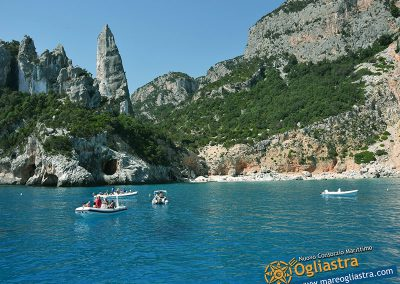 Linea Blu Motonave Costa di Baunei Ogliastra Sardegna