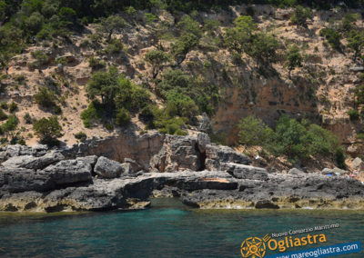 Linea Verde Motonave Costa di Baunei Ogliastra Sardegna