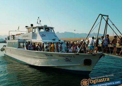 Motonave Corsaro I – Nuovo Consorzio Marittimo Ogliastra