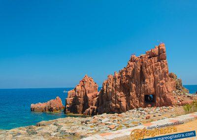 Panoramica del golfo Arbatax Ogliastra Sardegna